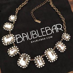 Baublebar vintage style statement necklace